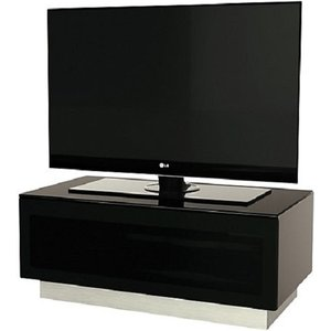 Elegant Furniture Element Small Tv Stand In Black With Glass Door Emtmod850 Blk.ap