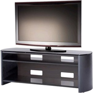 Elegant Furniture Finewoods Large Wooden Tv Stand In Black Oak Fw1350 Bv/b.ap