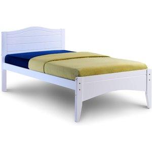 Elegant Furniture Lauren Wooden Single Bed In White Habflaur3.vt