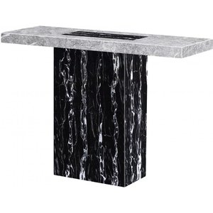Elegant Furniture Lotus Marble Console Table In Natural Stone Lotucons.hl