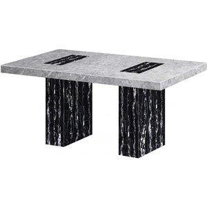 Elegant Furniture Lotus Marble Dining Table In Natural Stone Lotutab.hl