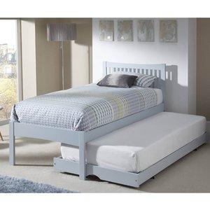 Elegant Furniture Mya Wooden Single Bed With Guest Bed In Grey Mya300grbgb.sr