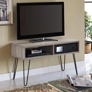 Elegant Furniture Owen Retro Wooden Tv Stand In Distressed Grey Oak 1748096pcomuk.dr