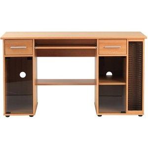 Elegant Furniture San Jose Wooden Computer Desk In Beech Effect Aw12007.ap