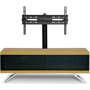 Elegant Furniture Tucana Ultra Wooden Tv Stand In Oak With 2 Storage Compartments Tucana 1200 H Ultra Oak.mda