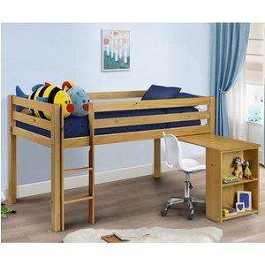 Elegant Furniture Wendy Wooden Sleeper Childrens Bed In Pine Wen003.jb