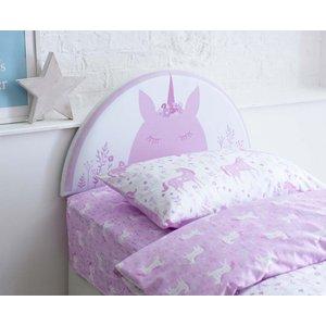 Catherine Lansfield Kids Unicorn Headboard Aspire Furniture Ltd 8823