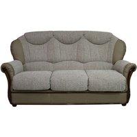 Designersofas4u Lecce Genuine Italian Leather 3 Seater Sofa Settee Coffee Milk Uk19336619