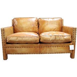 Designersofas4u Portofino Luxury Vintage Wash Tan Leather 2 Seater Sofa Uk45855349 Furniture