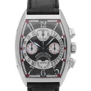 Franck Muller Biretrograde Perpetual Calendar 7850 Ccqpb, Arabic Numerals, 2012, Very Good Mens Watches