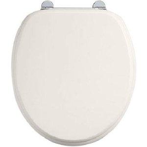 Burlington Medici Soft Close Toilet Seat With Chrome Hinges
