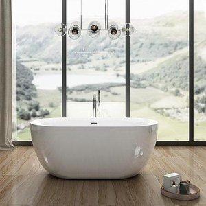 Charlotte Edwards Mayfair 1500mm Contemporary Freestanding Bath