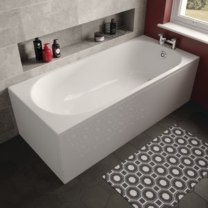 The White Space Arnold Single Ended Bath
