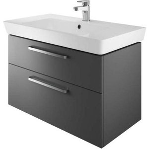 The White Space Scene 800mm Wall Hung Vanity Unit & Basin