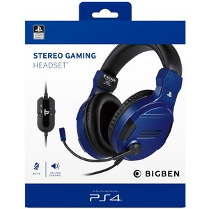 Big Ben Officially Licensed Playstation 4 Gaming Headset V3 Wired - Blue (ps4) Ps4ac225 Video Games