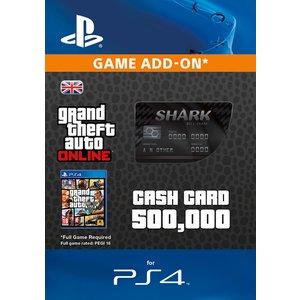 Gtav Bull Shark Cash Card (ps4) 006 Digedgson47648 Video Games