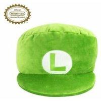 Nintendo Luigi Plush 11'' Cap Cushion 007 95888 Video Games