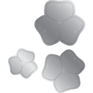 Gemini Elements Flower Forming Foam Die - Clover