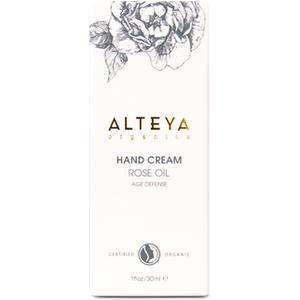 Alteya Organic Hand Cream Rose Oil - Age Defense 30 Ml