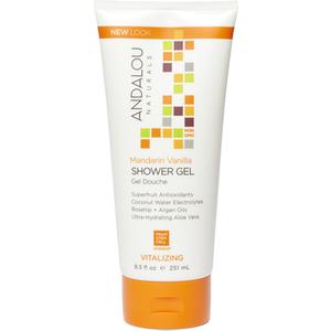 Andalou Mandarin Vanilla Vitalizing Shower Gel 251ml