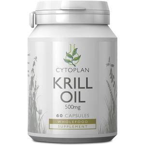 Cytoplan Krill Oil 60 Caps