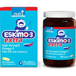 Nutri Advanced Eskimo-3 Extra High Strength Fish Oil 50 Capsules