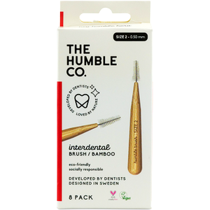 The Humble Co. Humble Interdental Brush Red Size 5 8s
