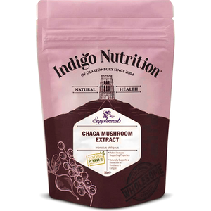 Indigo Herbs Indigo Nutrition Chaga Mushroom Extract 50g