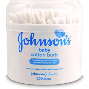 Johnsons Johnson's Baby Cotton Buds 200 Paper Sticks