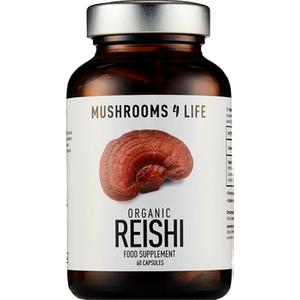 Mushrooms 4 Life Organic Reishi 60 Capsules