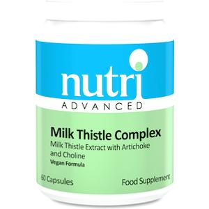 Nutri Advanced Milk Thistle Complex 60 Capsules