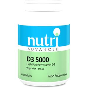 Nutri Advanced Vitamin D3 High Strength 60 Tablets