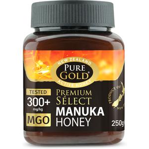Pure Gold Premium Select 300+ Mgo Manuka Honey 250g