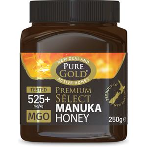 Pure Gold Premium Select Manuka Honey 525 250g