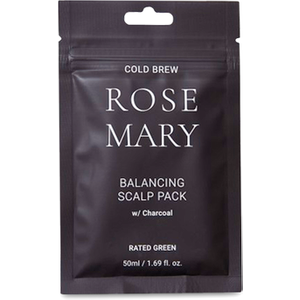 Rated Green Cold Brew Rosemary Balancing Scalp Pack With Charcoal