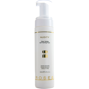 Rose And Caramel Nudity Clear Self Tanning Mousse 200ml