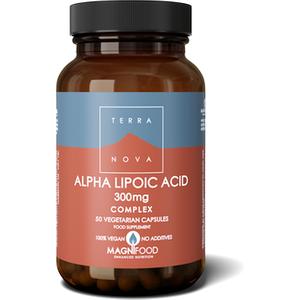 Terranova Alpha Lipoic Acid 300mg Complex 50's