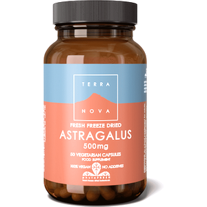 Terranova Astragalus 500mg 50 Capsules