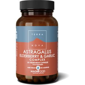 Terranova Astragalus, Elderberry & Garlic Complex 50's
