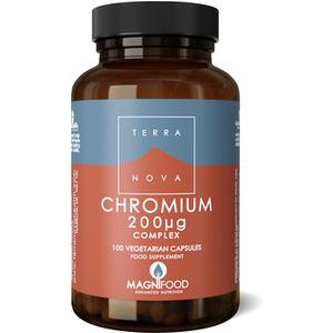 Terranova Chromium 200ug Complex 100's