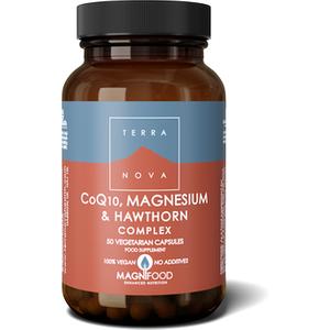 Terranova Coq10, Magnesium & Hawthorn Complex 50's