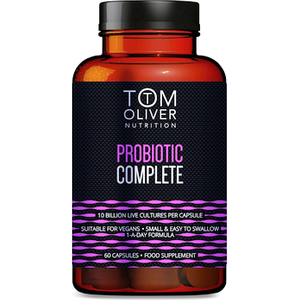 Tom Oliver Nutrition Probiotic Complete 60s
