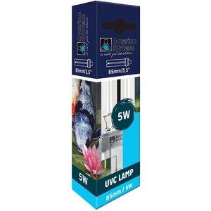 Aquarium Systems Compact Lamp Uvc 8.5cm - 5w - 2 Pin 1lav005 Pets