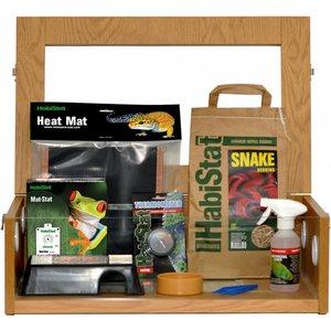 Habistat Hatchling Snake Starter Kit (oak) Hssk Pets