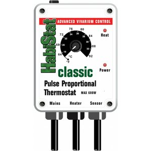 Habistat Pulse Thermostat (600w) White Htpw Pets
