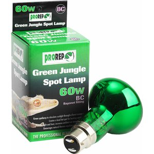 Prorep Green Jungle Spotlamp 60w Bc Lms220 Pets