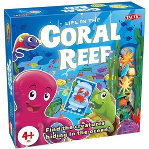 Tactic 54575 Coral Reef Kid's Interactive Board Game