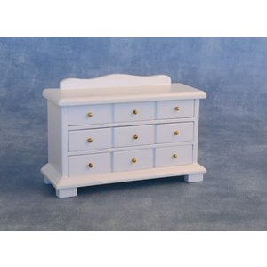 Streets Ahead 9 Draw Sideboard In White - Df1586