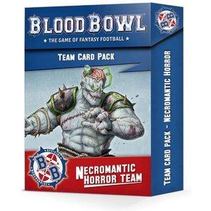 Warhammer Blood Bowl Necromantic Horror Team Card Pack - 60050907001