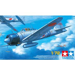 Tamiya Zero Fighter 1:72nd Scale Plastic Model Kit - 60780